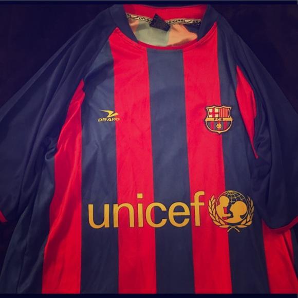 Drako Other Fc Barcelona Unicef Jersey Mens One Size Xl Poshmark